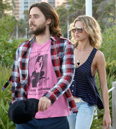 Jared Leto Loves His Blondes and His Flannel