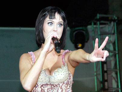 Katy Perry: New Year's Eve Showgirl