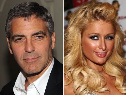 George Clooney Rises to Paris Hilton's Level?