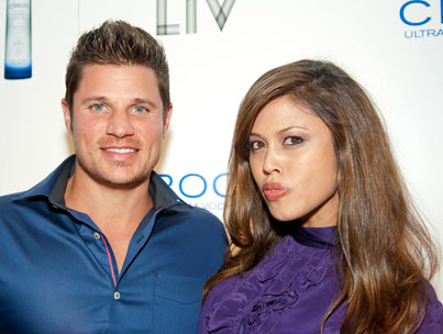 Vanessa Minnillo Puckers Up to Nick!
