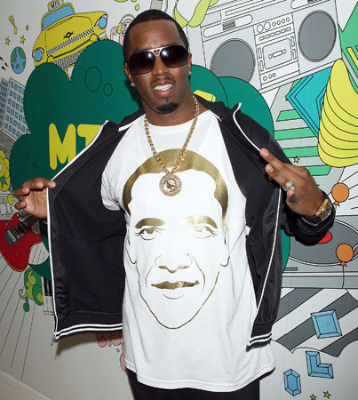 Sean Combs Tries To Mooch an Obama Freebie