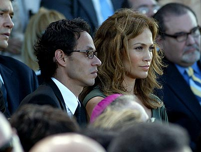 Jennifer Lopez and Marc Anthony: Inauguration of Divorce?