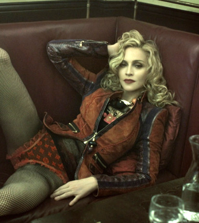 Madonna Opens Up for Louis Vuitton Ads
