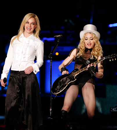 Britney Spears and Madonna Teaming Back Up?