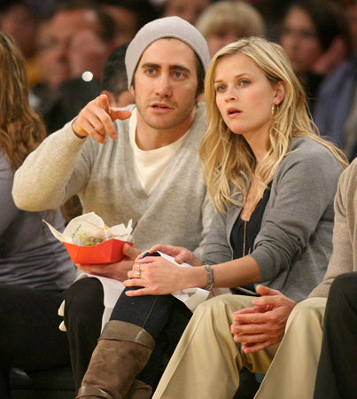 Reese Witherspoon and Jake Gyllenhaal Are Ballers