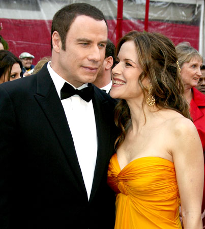 John Travolta and Kelly Preston Thank Fans