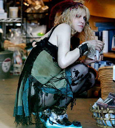 Courtney Love Ran Away From the Circus