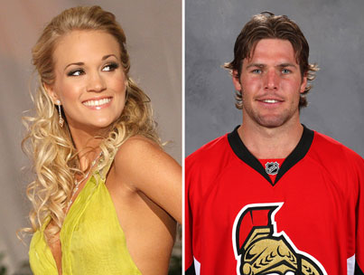 Carrie Underwood Dating Hockey Player Mike Fisher?