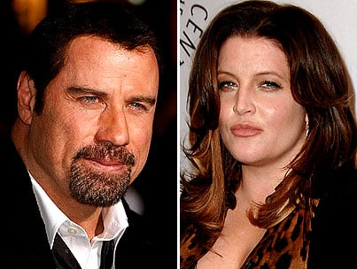 John Travolta and Lisa Marie Presley