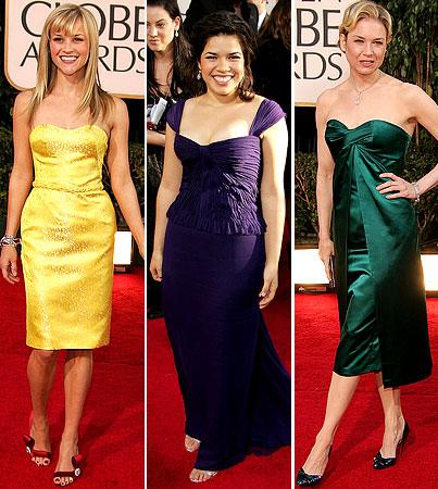 Golden Globes Trend Rewind: Jewel Tones
