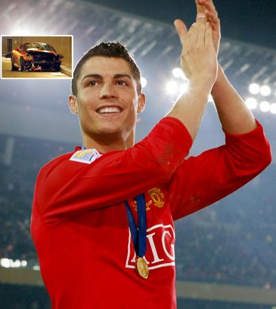 Cristiano Ronaldo Is a Crashing Young Fellow