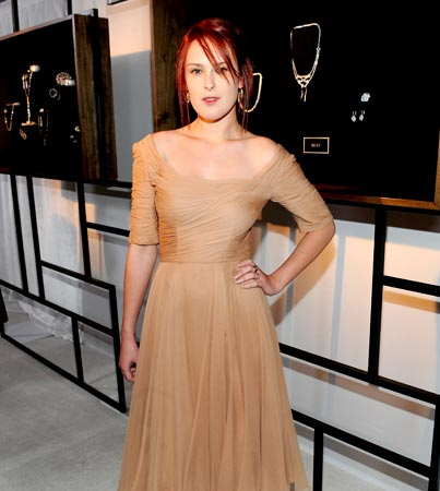 Rumer Willis Shines at Diamond Show
