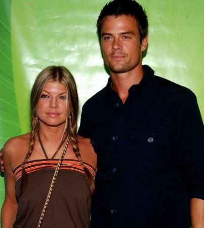 Fergie and Josh Duhamel Have a White Wedding