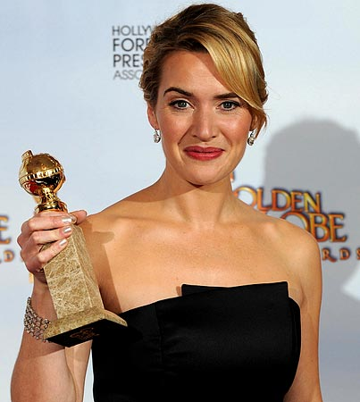 Golden Globes—The Winners Are Kate Winslet!