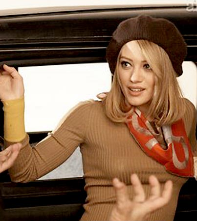 Hilary Duff Is Going Gangster