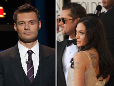 Brad and Angelina diss Ryan Seacrest