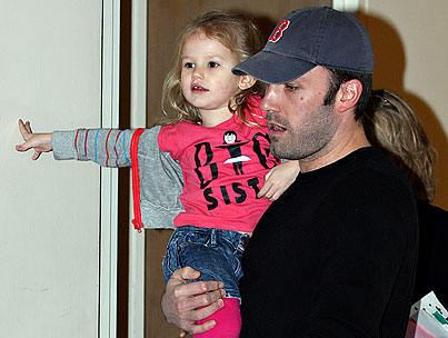 Violet Affleck Is a Proud Big Sister
