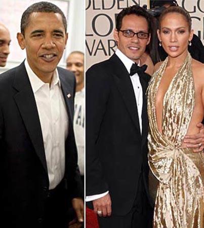 Jennifer Lopez, Marc Anthony: 'Worming' Into Obama's Heart?