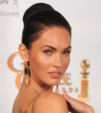 Megan Fox: Transsexual Posing as Alan Alda?