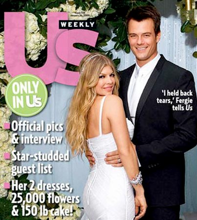 Fergie and Josh Duhamel: Wedding Picture!