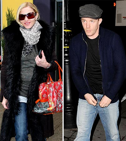 Guy Ritchie Drops in on Madonna