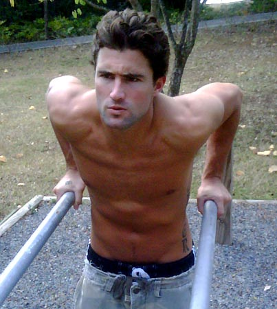 Brody Jenner Braces Himself for Hotness