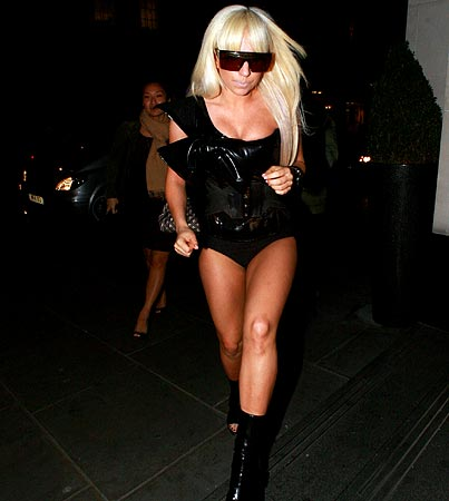 Lady GaGa Forgot to Wear Pants…Again