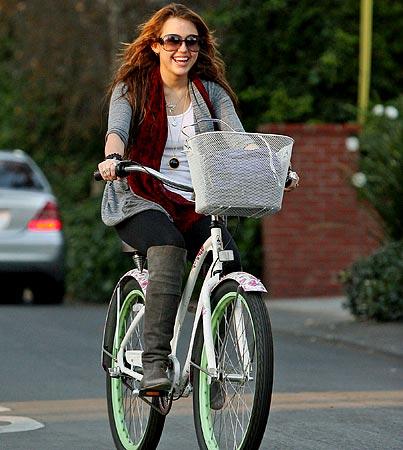 Miley Cyrus Rides Alone