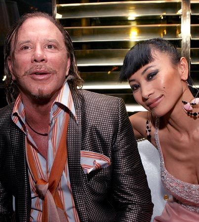 Mickey Rourke and Bai Ling's Love Connection
