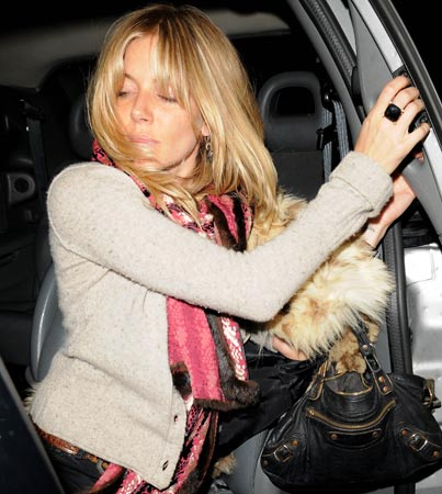 Did Sienna Miller Have a Few Too Many?