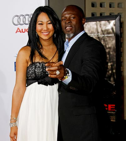 Kimora Lee Simmons and Djimon Housou: Pregnant