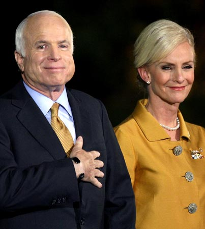 John McCain Denies Wife 'Dancing with the Stars'