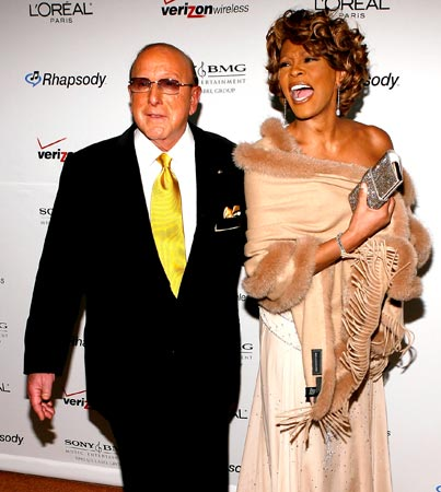 Whitney Houston Doing Clive Davis' Pre-Grammy Party