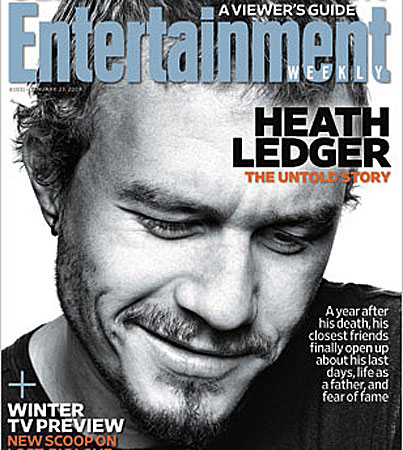 Stars Discuss Heath Ledger's Legacy in 'Entertainment Weekly'