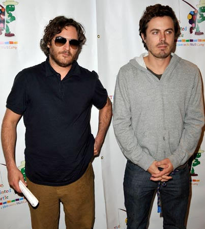Casey Affleck's Got His Eye On Joaquin Phoenix