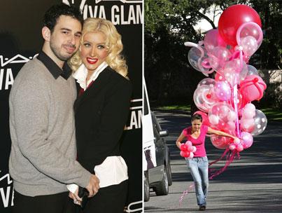 Christina Aguilera Throws Max a 'Wild' Party