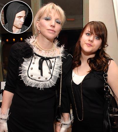 Frances Bean Cobain Has Bloodlust for Robert Pattinson