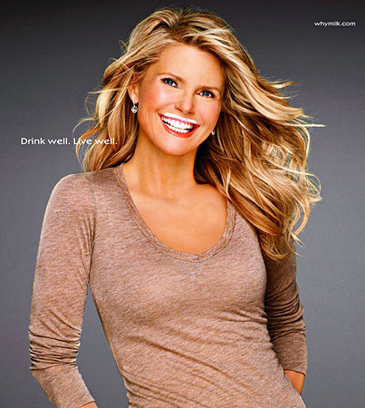 Christie Brinkley's Got Milk Once More