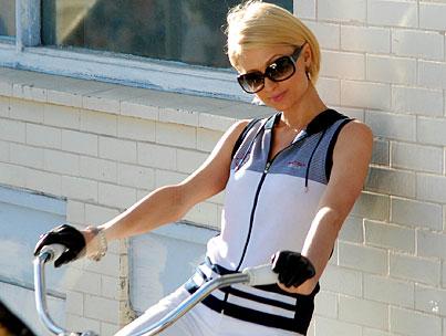 Paris Hilton Is Feelin' FILA