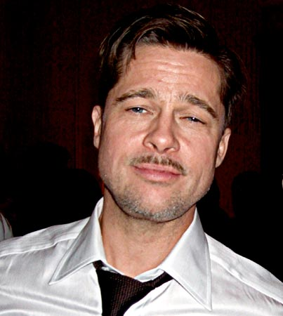 Brad Pitt Parties Solo