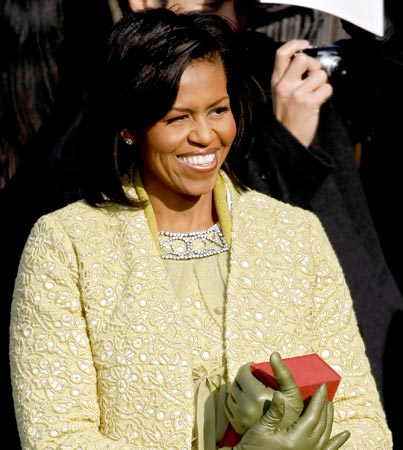 Michelle Obama's Inauguration Outfit: Holy Toledo!