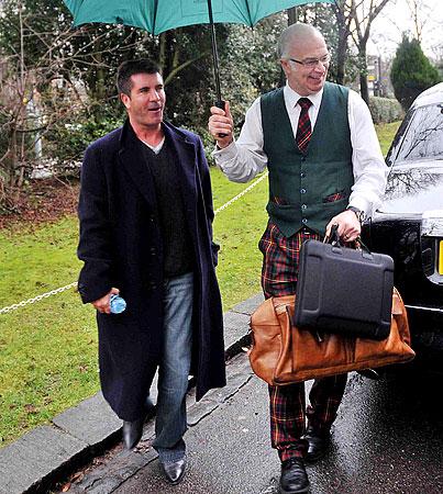 Simon Cowell: Rich Men Don't Wear Plaid