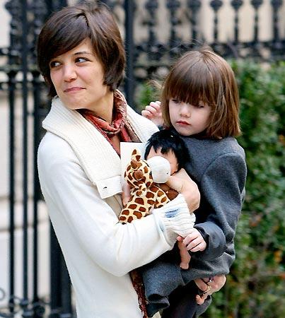 Katie Holmes Found An 'Extra Man'