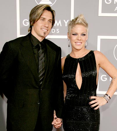 Pink and Carey Hart: Back on and Shackin' Up