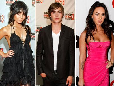Zac Efron and Megan Fox? Poor Vanessa Hudgens!