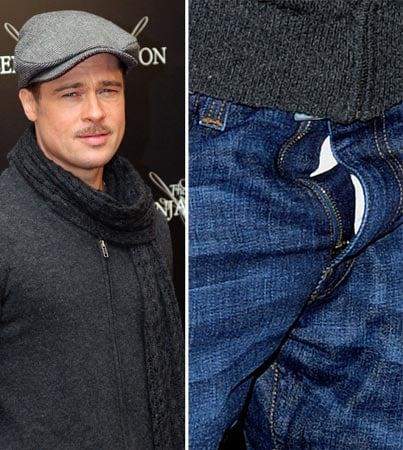 Brad Pitt Un-'Buttoned'