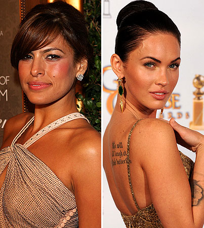 Eva Mendes, Megan Fox Are 'Most Desirable'