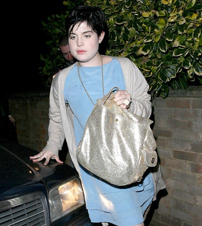 Kelly Osbourne Back in Rehab