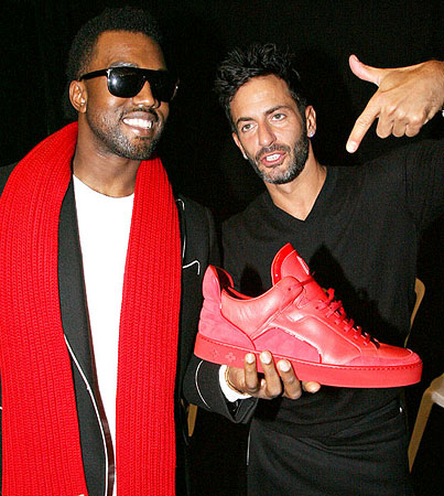 Kanye West and Marc Jacobs Unveil New Shoe