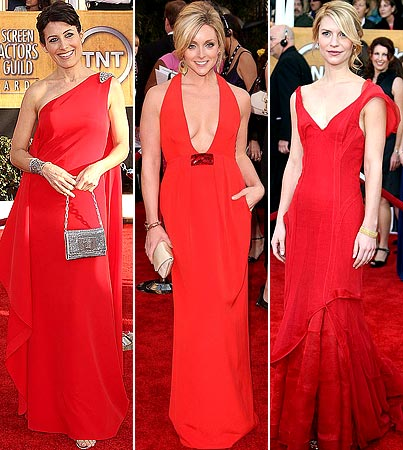 SAG Awards: Red Hot Ladies!